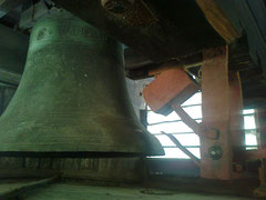 Joseph Smith's old No.3 bell was sold to the railway works at Derby in 1893 where it still hangs. The building is now Derby College.