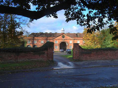Castle Bromwich Hall; Sir John Bridgeman II's stables and coach house.