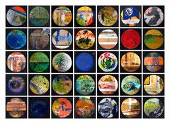 Panneau 10 des peintures 316 à 350