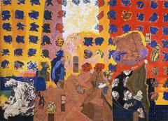 """""""Guerre à la tristesse"""" 400 x 580 cm  1995"""