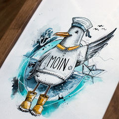 maritimer_print_olaf_hahn_ueber_bord