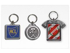 Schlüsselanhänger mit ihrem Verein
