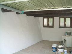 Garage gestrichen
