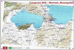 Coupure cartographique au 1/50000 avec injection des points géodésiques