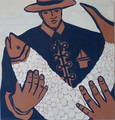 Matador II,  Acrylfarbe a. Leinwand, 110,5 x 105,5 cm,  2012