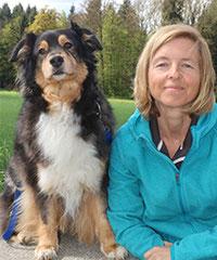 Gerda Maurer und Ehlaya / Australian Shepherd