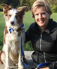 Nicole Ammann und Amber / Border Collie
