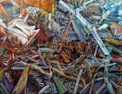 CONFUSION 2014, Acryl auf Nessel 100 x 130 cm