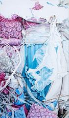 BLUE AND PINK 2018 Acryl auf Leinwand 120 x 70 cm