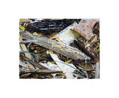 Öl auf Papier, 50x60cm