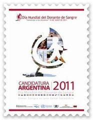 Afiche candidatura Sede Argentina 2011.