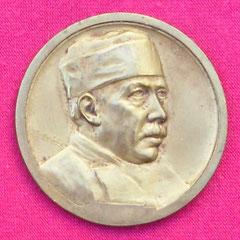 3. Frente Medalla Dr. Luís Agote, Homenaje, Abril 1929. Gentileza Dr. Carlos Di Bartolo.