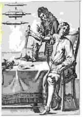 El 29 de Junio de 1967, Dr. Juan-Baptiste Denys realiza la Primera Transfusión de Sangre de un cordero a un hombre. (Francia).