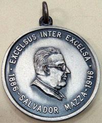 11. Frente Medalla Frente, en honor al Dr. Salvador Mazza, San Pedro, Jujuy. 1980.
