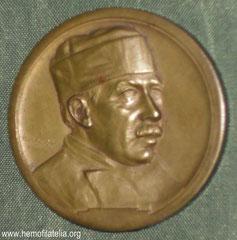 2. Frente Medalla Dr. Luís Agote, Homenaje 1929.