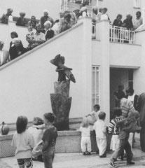 Bei der Einweihung 1991