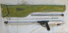 Fusil hydropneumatique avec etui d'origine
