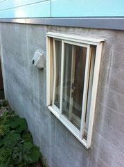 居室窓、換気フード破損状況報告