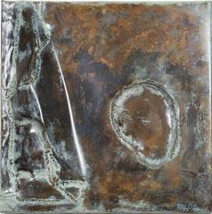 Steppensee 2005, 50 x 50cm