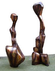Phoenix 2008, 180cm und Erdling 2008, 220cm