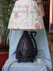 """4-022.Настольная лампа """"Беглянка""""."""