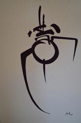 CALLIGRAPHIES OCCIDENTALES 4 - Philogo Artiste Plasticien