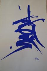 CALLIGRAPHIES OCCIDENTALES 2 - Philogo Artiste Plasticien