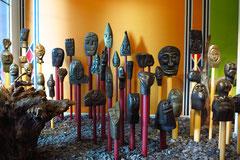 Monte Palace Tropical Garden, Akrikanische Skulpturensammlung