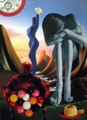 La Gula (Serie Pecados Capitales) (collage tradicional