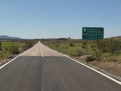 Grenze Andalusien-Extremadura