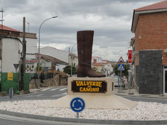 Valverde del Camino - Ortseingang