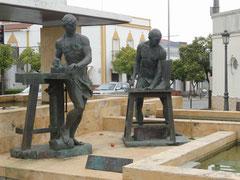 Valverde del Camino - Schuhmacherdenkmal
