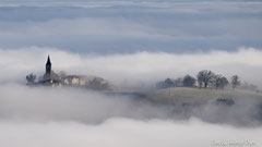 St. Marien im dichten Nebel