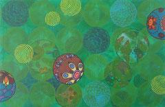 Fallobst III, 2014, 65 x 100 cm