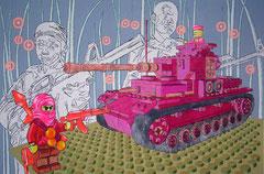 wir machen ernst, 2009, 200 x 300 cm