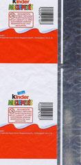 Original Kinder Überraschung – Aluminiumfolien – Streifen, für Ungarn 2010, rechte Seite