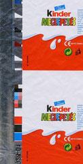 Original Kinder Überraschung – Aluminiumfolien – Streifen, für Ungarn 2010, linke Seite