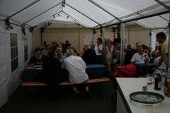 Dämmerschoppen 2008 Im Zelt