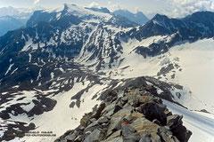 Gipfelgrat zum Hohen Sonnblick, 3106m
