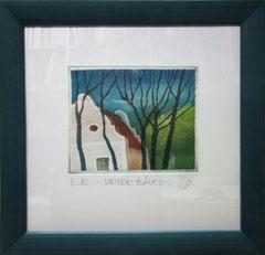 Unter Bäumen - 33 x 33 cm - verkauft