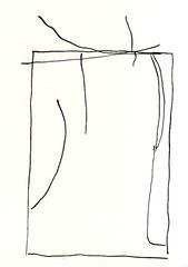 Nordseetagebuch #1, 2016, 29,7 21 cm, Chinatusche, Graphit auf Papier