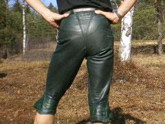 Dunkelgrün · knielang · Bund 72 cm · Erweitert auf 78 cm · 20100326-24