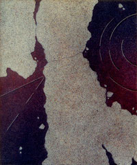 series 「荒涼」-原始の儀式 455×380㎜