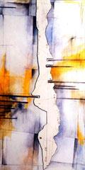 水辺の記憶-氾濫Ⅲ 1220×614㎜