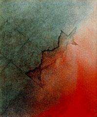 series 「荒涼」-赤い風 727×606㎜