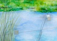 ~Waters Edge~のためのドローイング (泉) W297×D210㎜