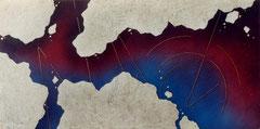 series 「origin」-海の儀式 900×1800㎜