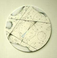 円面波紋図 (三) 直径404×10㎜