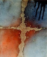 series 「荒涼」-砂塵 727×606㎜