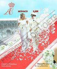 """Création """"bloc mariage"""" à l'occasion de MonacoPhil 2011"""